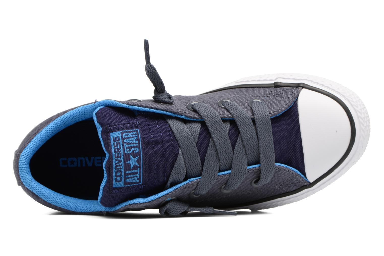 Sneaker Converse Chuck Taylor All Star Street Holiday blau ansicht von links