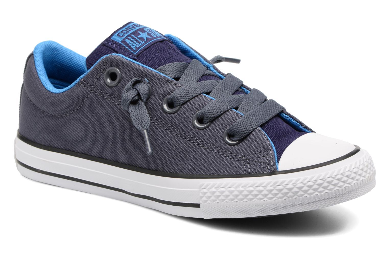 Sneaker Converse Chuck Taylor All Star Street Holiday blau detaillierte ansicht/modell