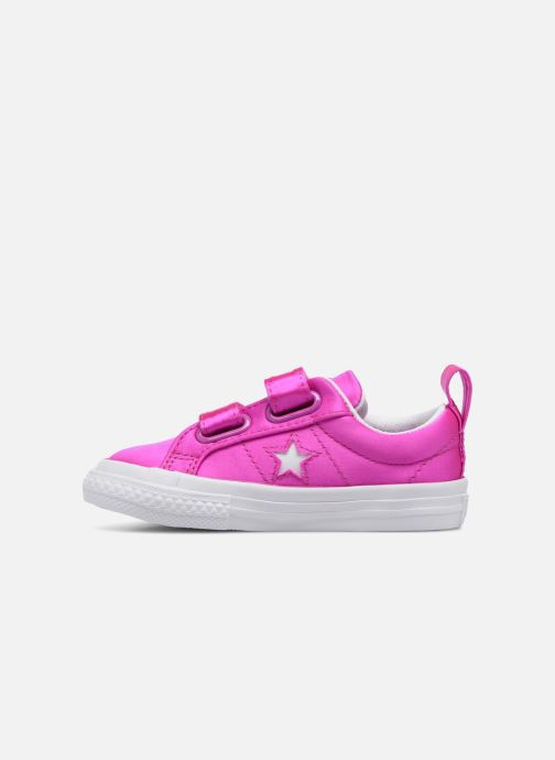 Baskets Converse One Star 2V Ox Rose vue face