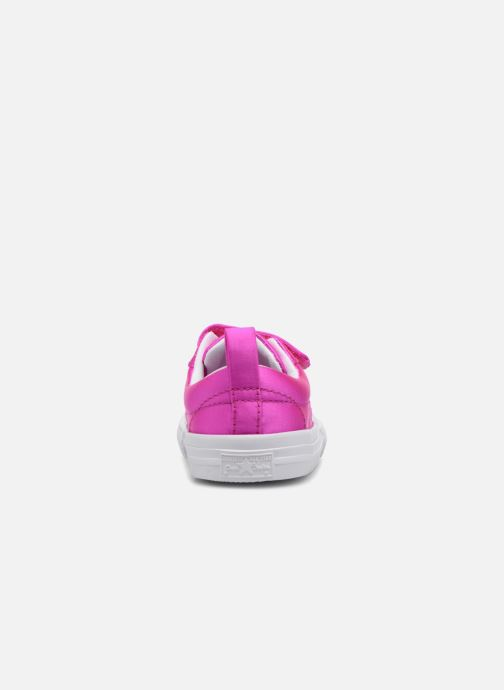 Baskets Converse One Star 2V Ox Rose vue droite