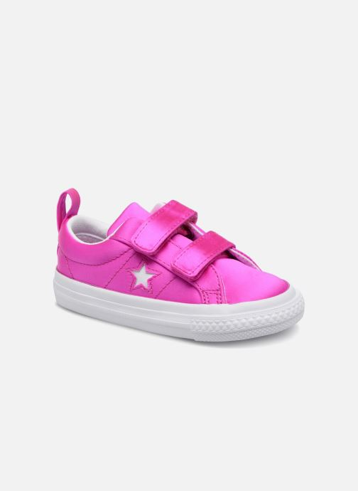 Baskets Converse One Star 2V Ox Rose vue détail/paire