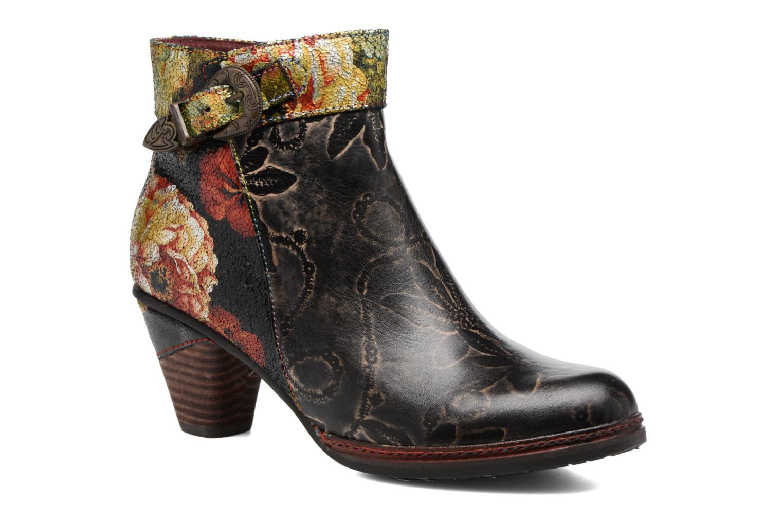 Boots en enkellaarsjes Laura Vita Alizee 07 Zwart detail