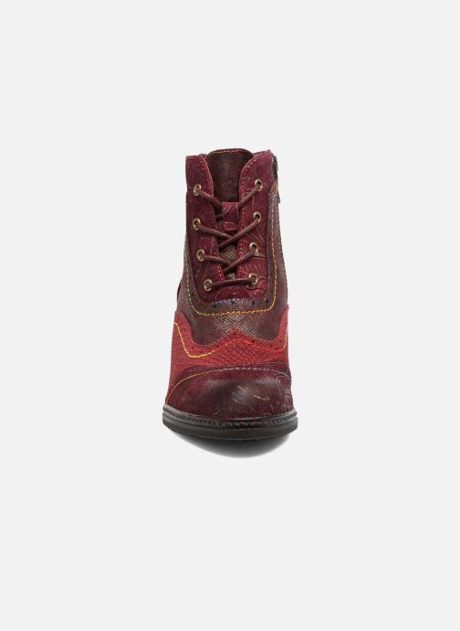 Ankle boots Laura Vita Alizee 30 Burgundy model view