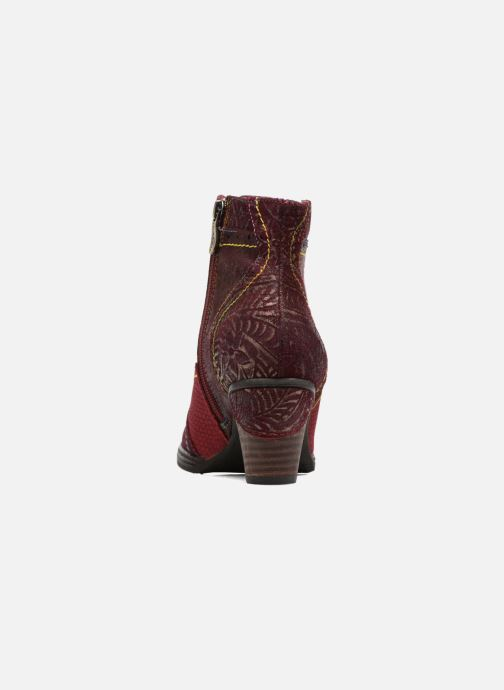 Ankle boots Laura Vita Alizee 30 Burgundy view from the right
