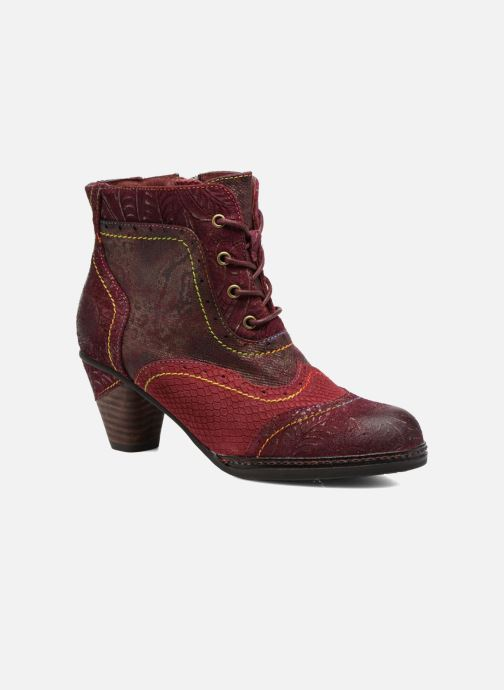 Ankle boots Laura Vita Alizee 30 Burgundy detailed view/ Pair view