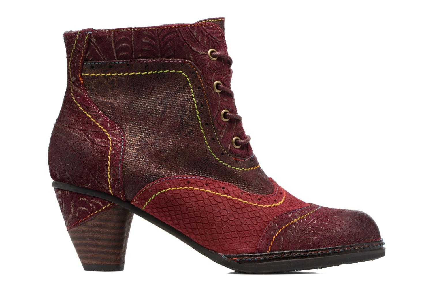 Ankle boots Laura Vita Alizee 30 Burgundy back view