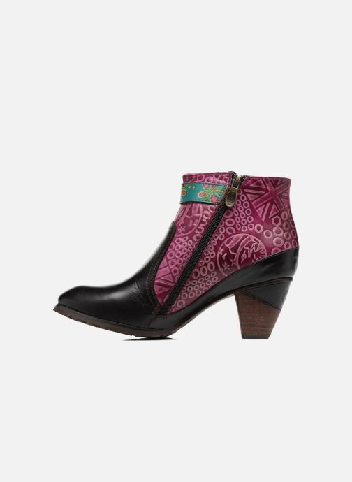 Ankle boots Laura Vita Carole 05 Black front view