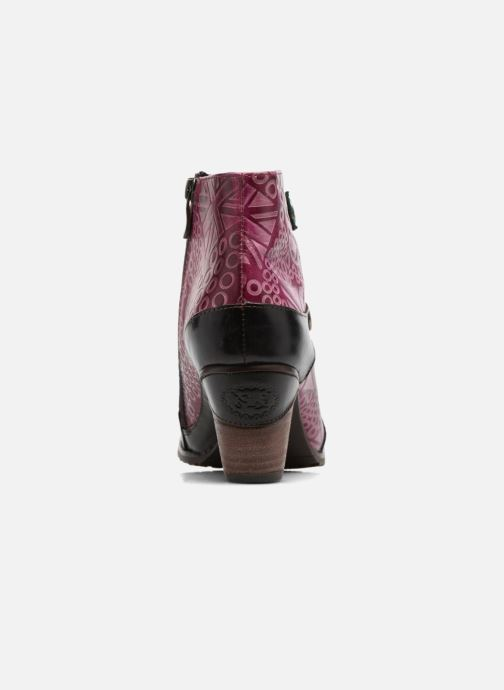 Ankle boots Laura Vita Carole 05 Black view from the right