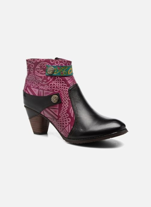 Ankle boots Laura Vita Carole 05 Black detailed view/ Pair view