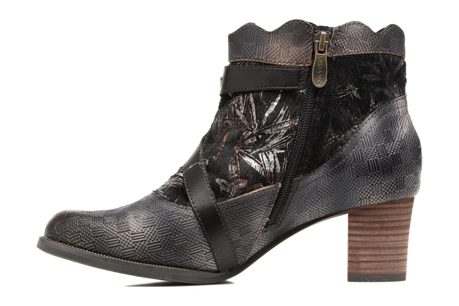 Ankle boots Laura Vita Amelia 18 Black front view