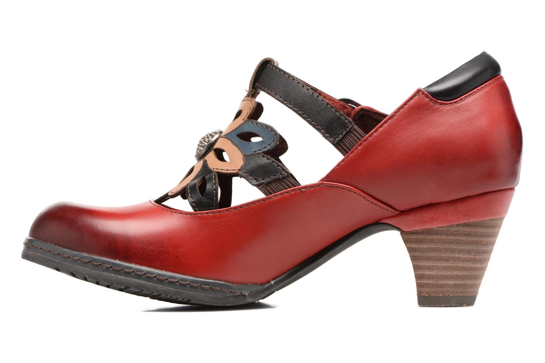 High heels Laura Vita Alissa 07 Red front view