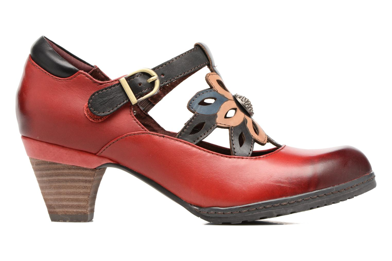 High heels Laura Vita Alissa 07 Red back view