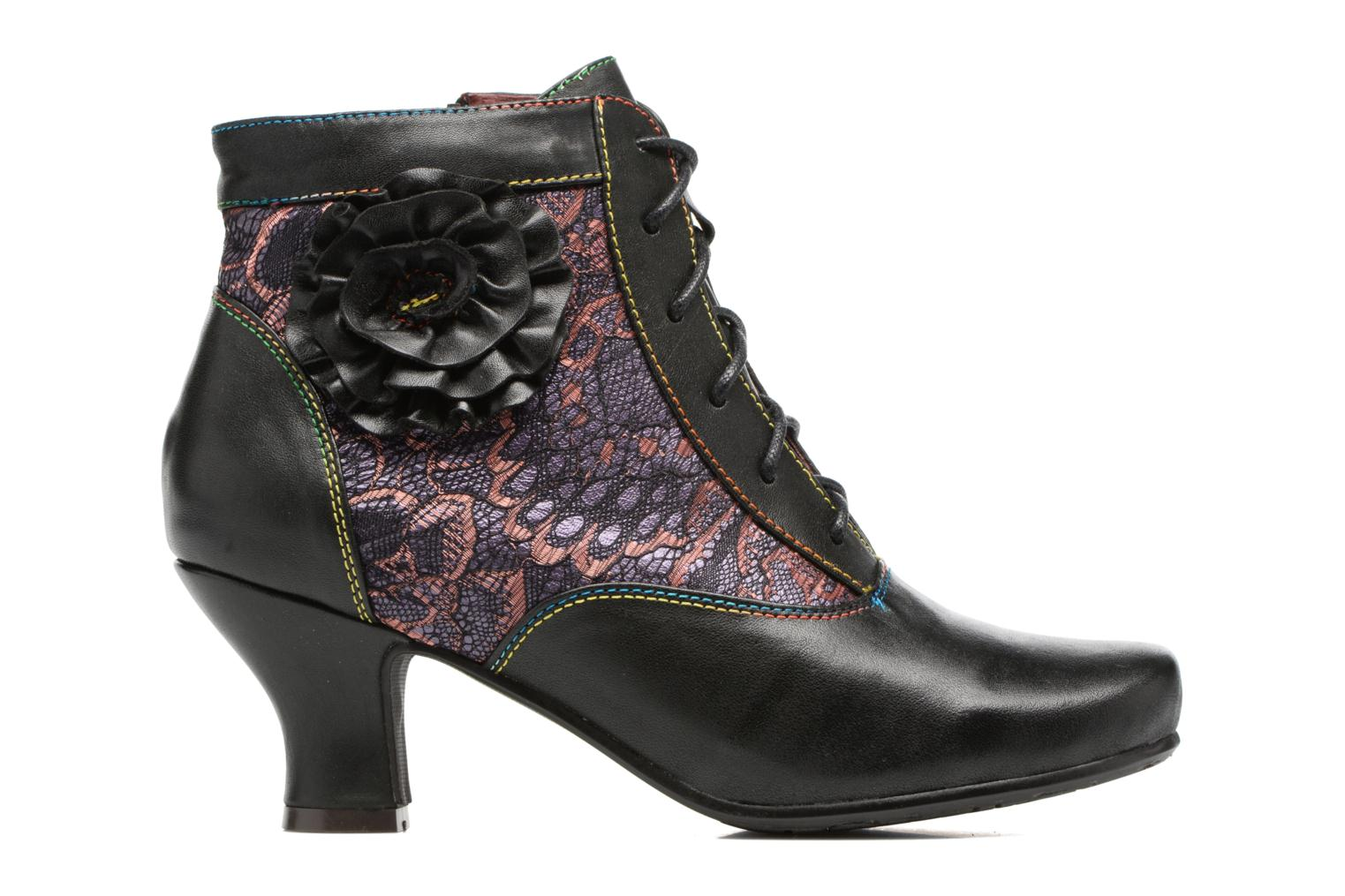 Ankle boots Laura Vita Candice 03 Black back view