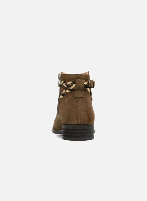 Ankle boots Yep Pietra Green view from the right