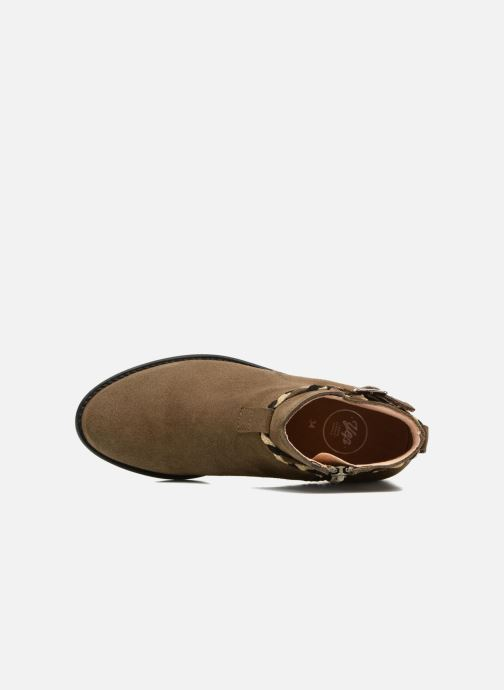 Bottines et boots Yep Pietra Vert vue gauche