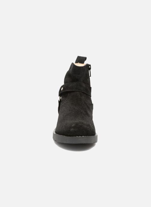 Bottines et boots Yep Patricia Noir vue portées chaussures