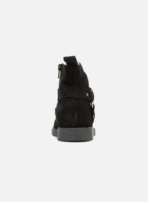 Bottines et boots Yep Patricia Noir vue droite