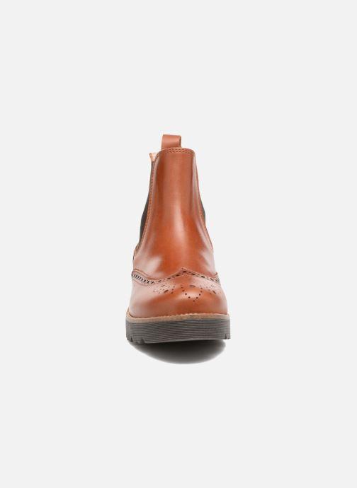Bottines et boots Yep Papillon Marron vue portées chaussures