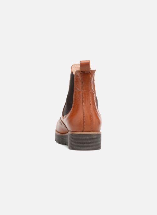Boots en enkellaarsjes Yep Papillon Bruin rechts