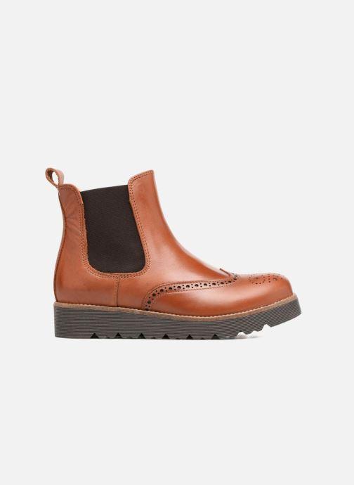 Bottines et boots Yep Papillon Marron vue derrière