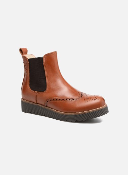 Bottines et boots Yep Papillon Marron vue détail/paire