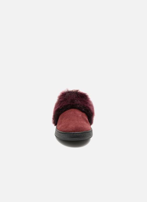 Baskets Yep Emiline Bordeaux vue portées chaussures