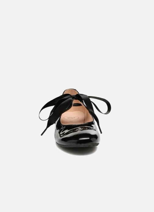Ballerine Yep Oriane Nero modello indossato