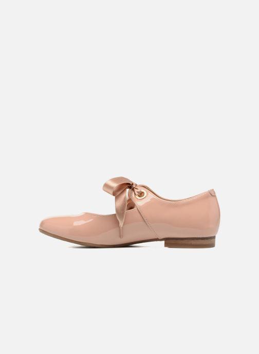Ballerinas Yep Oriane rosa ansicht von vorne