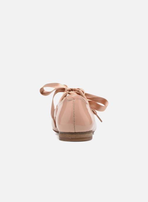 Ballerinas Yep Oriane rosa ansicht von rechts
