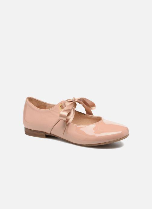 Ballerinaer Yep Oriane Pink detaljeret billede af skoene