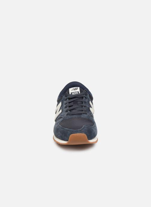 Sneaker New Balance U420 D blau schuhe getragen