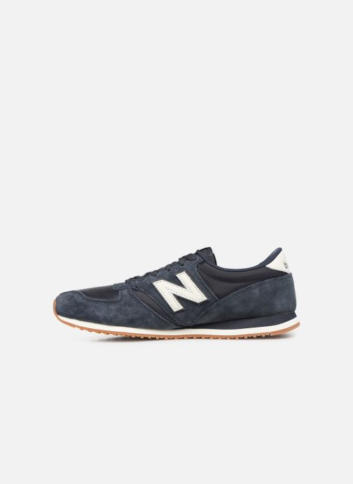 Baskets New Balance U420 D Bleu vue face