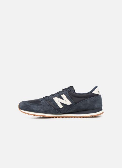 Sneaker New Balance U420 D blau ansicht von vorne