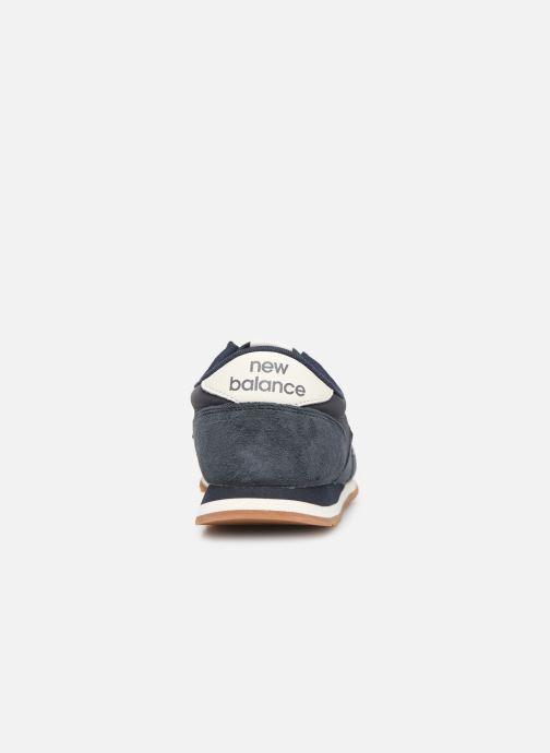 Sneaker New Balance U420 D blau ansicht von rechts