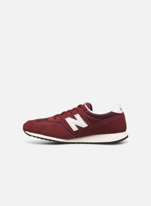 Trainers New Balance U420 D W Burgundy front view