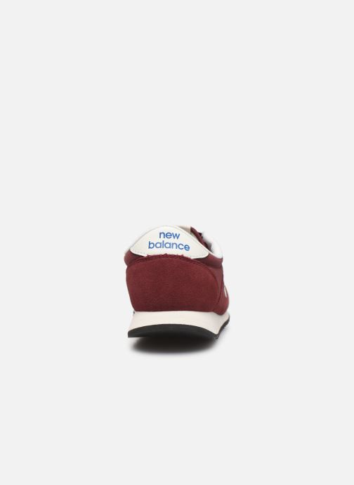 Trainers New Balance U420 D W Burgundy view from the right