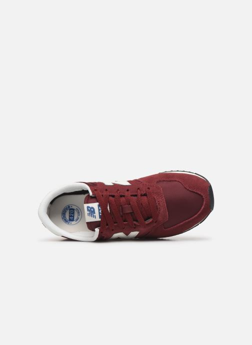 Trainers New Balance U420 D W Burgundy view from the left