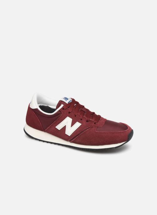 Trainers New Balance U420 D W Burgundy detailed view/ Pair view
