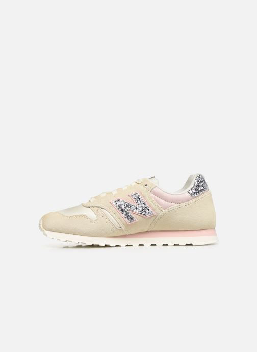 Trainers New Balance WL373 B Beige front view