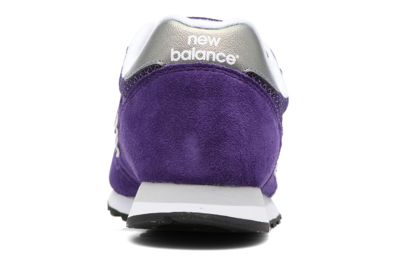 Baskets New Balance WL373 B Violet vue droite