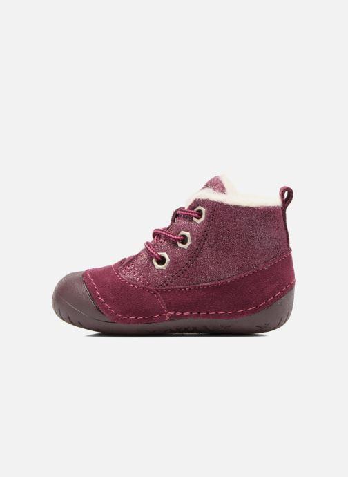 Ankle boots Primigi Vitale Burgundy front view