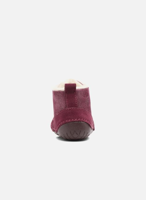 Ankle boots Primigi Vitale Burgundy view from the right
