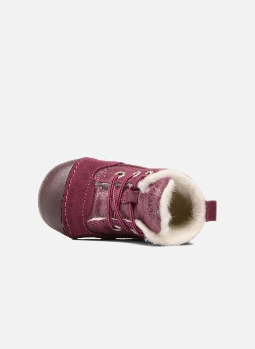 Bottines et boots Primigi Vitale Bordeaux vue gauche