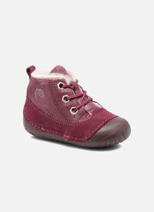 Ankle boots Primigi Vitale Burgundy detailed view/ Pair view