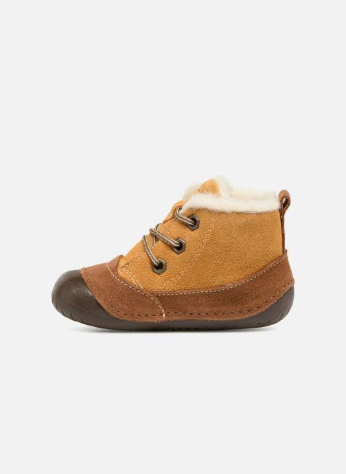 Ankle boots Primigi Vitale Brown front view