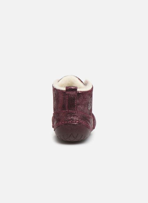 Bottines et boots Primigi Vitale Violet vue droite