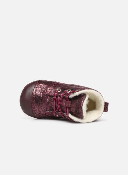 Bottines et boots Primigi Vitale Violet vue gauche