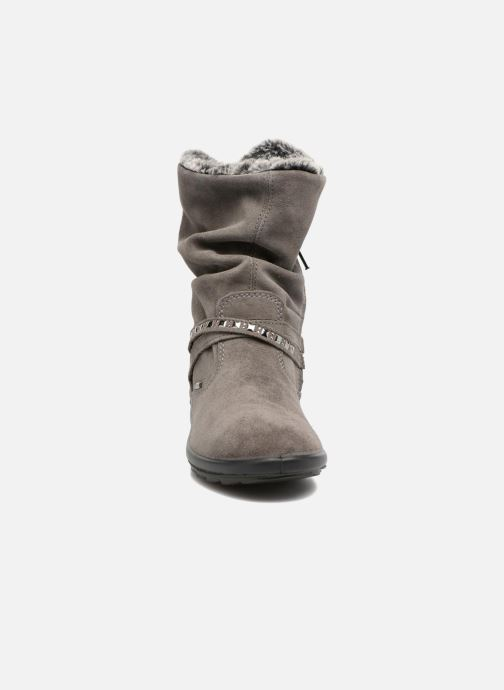 Bottes Primigi Carlotta Gris vue portées chaussures