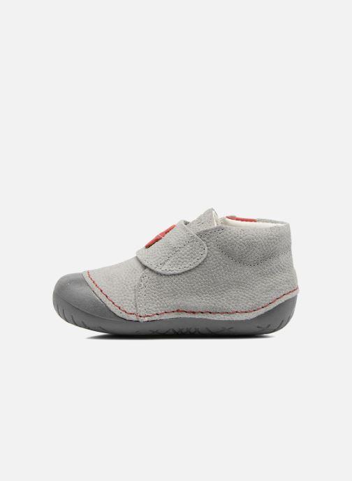 Chaussures à scratch Primigi Tore Gris vue face