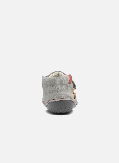 Chaussures à scratch Primigi Tore Gris vue droite